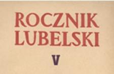 Nazwy dzielnic i przedmieść Lublina