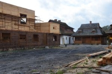 """Biłgoraj, the construction site for """"The City on the Trail of Borderland Cultures"""""""